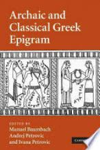 Archaic and Classical Greek Epigram